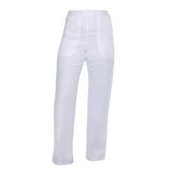 Pantaloni albi industria alimentara