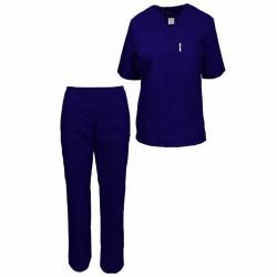 Costum de medic bleumarin