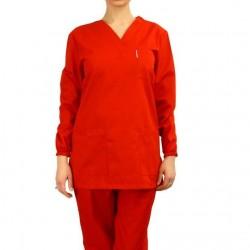 Bluza de lucru rosie
