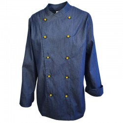 Tunici de bucatari cu butoni din blug