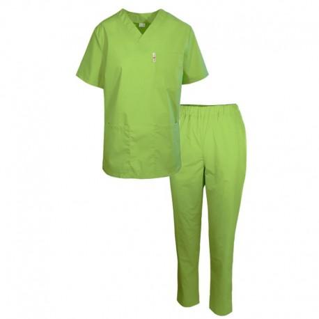 Uniforma medicala verde fistic Cesare
