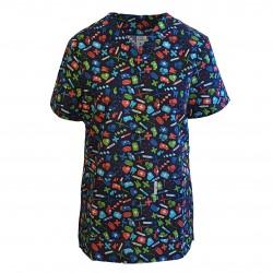 Bluza medicala imprimata