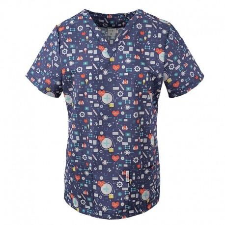 Bluze imprimate pentru medici