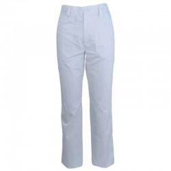 Pantalon brutar tercot alb