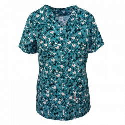 Bluze medici cu imprimeu