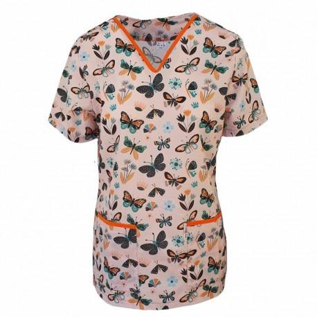 Bluza medic cu imprimeu