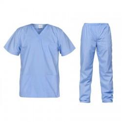 Uniforme medicale bleu