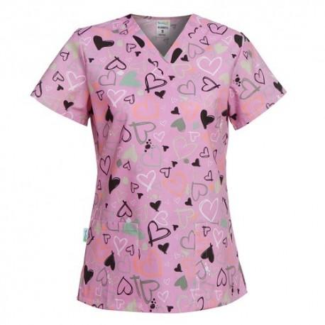 Bluze dama medici si asistente imprimate