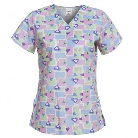 Bluze medici dama imprimate