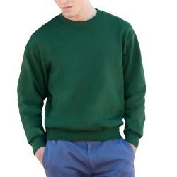 Tricou flausat verde