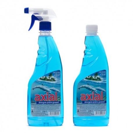 Detergent de geam set Axial 0.75L
