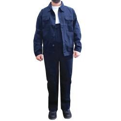 Costum salopeta pantalon cu pieptar