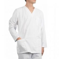 Bluze medicale albe