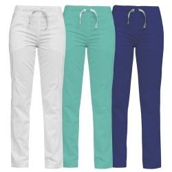 Pantaloni medicali colorati