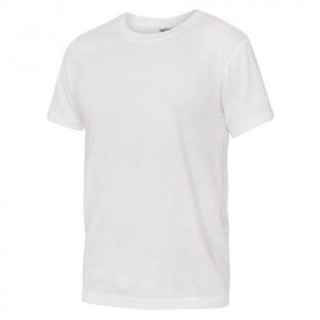 Tricouri bumbac albe