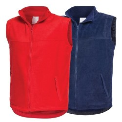Veste matlasate fleece