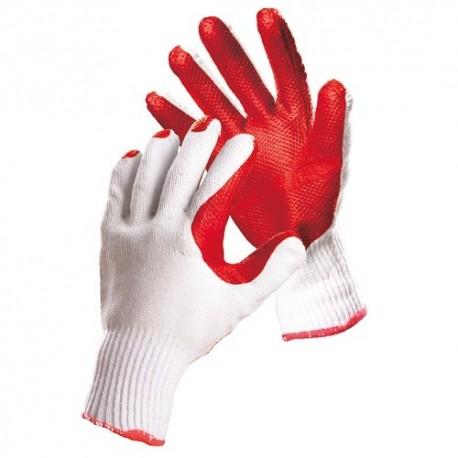 Manusi protectie palma latex Redstart