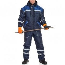 Costum cu pieptar de iarna matlasat