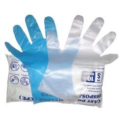 Manusi polietilena plastic