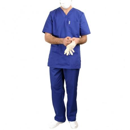 Costum de lucru medical albastru