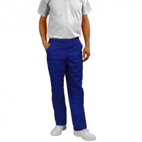 Pantaloni salopeta de lucru albastri