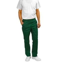 Pantaloni salopeta de lucru verde
